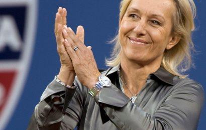 Tenisová legenda Martina Navrátilová pod palbou kritiky transgenderu
