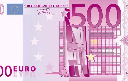 Eurozone banks stop issuing €500 notes, although cash-loving Germany delays