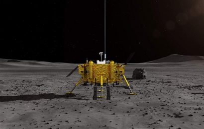 China probe lands on dark side of the Moon