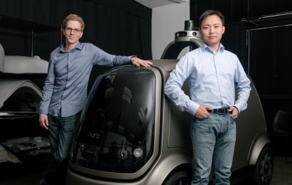 Driverless delivery startup Nuro raises almost $1 billion from SoftBank