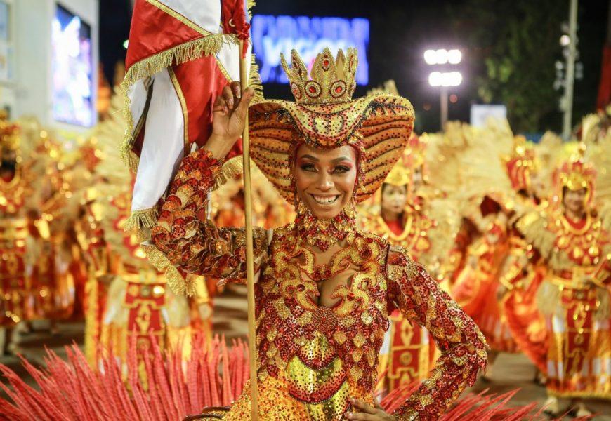 Carneval in Rio de Janeiro: União da Ilha and Portela