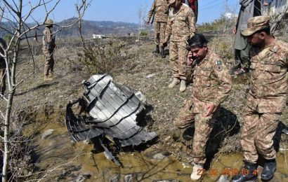 The wreck of another combat aircraft was found in Kashmir