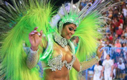 Carneval in Rio de Janeiro: Imperatriz Leopoldinense and Unidos da Tijuca