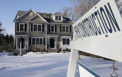 US markets: New-home sales fell 6.9% in January