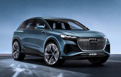 Audi revealed the Q4 E-tron SUV