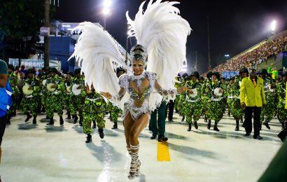 Carnaval no Rio de Janeiro, 1º Dia