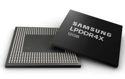 Samsung zahájil výrobu 12GB LPDDR4X RAM pro mobilní zařízení