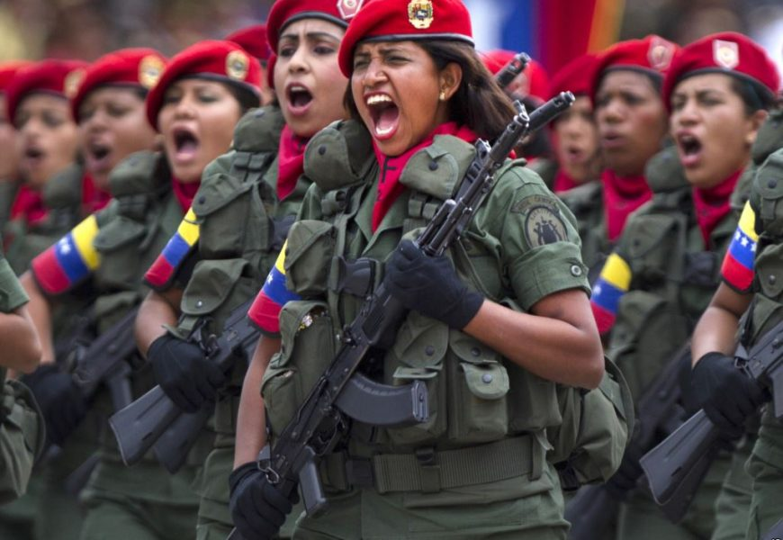 Venezuela refuses to become a 68th overthrown sovereign government