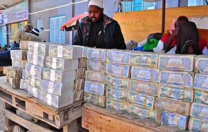 Zimbabwe is out of dollar cash and reserves again