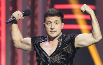 Comedian Zelenskiy Has a Overwhelming Lead in the Ukrainian Elections