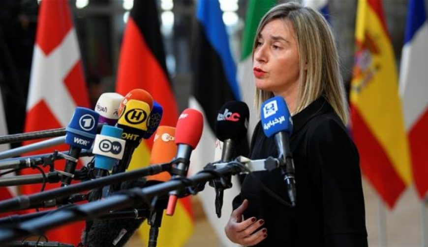 Mogherini reiterates support for Iran, Pompeo failed