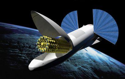 Prvních 60 družic Starlink pro internet z kosmu je na oběžné dráze