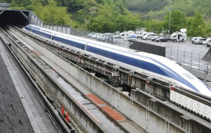 China Unveils 600 km/h Maglev Train