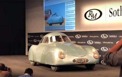 Aukce Porsche Type 64 skončila fiaskem
