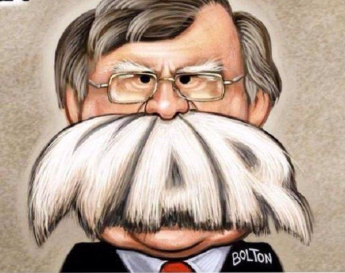 Warmonger and Ultra-Zionist National Security Advisor John Bolton Fired