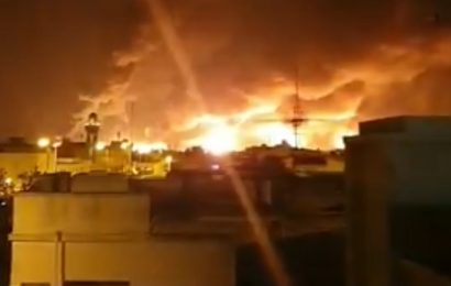 Massive Fires And Explosions Erupt After Drone Strike Hits World's Largest Oil Processing Facility In Saudi Arabia