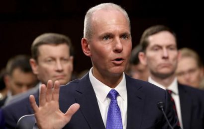 Boeing CEO Testify In Front Of Senate
