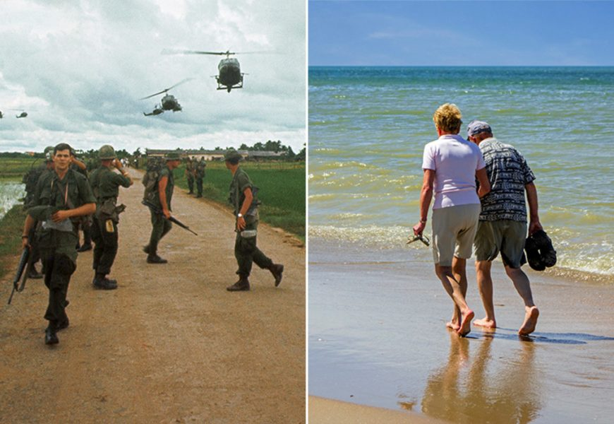 US war veterans are returning to Vietnam 'for a better life'