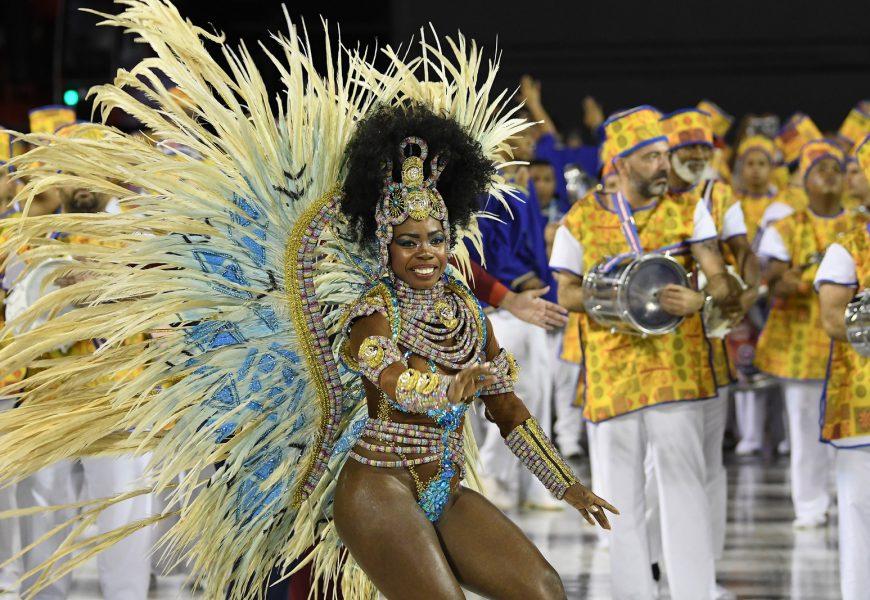 Karneval Rio de Janeiro – první noc