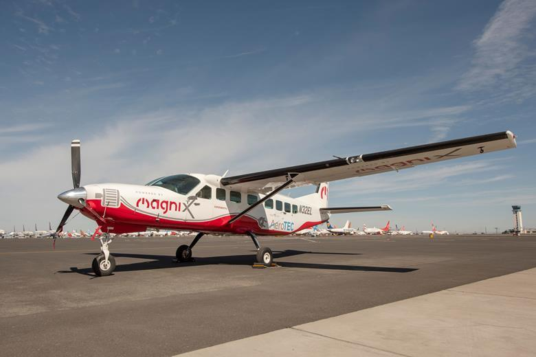 All-Electric Cessna Aircraft Makes Maiden Flight