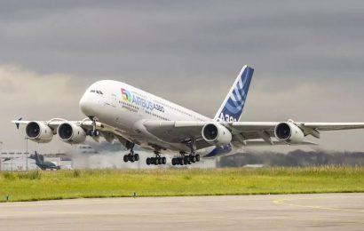 Poslední produkční Airbus A380