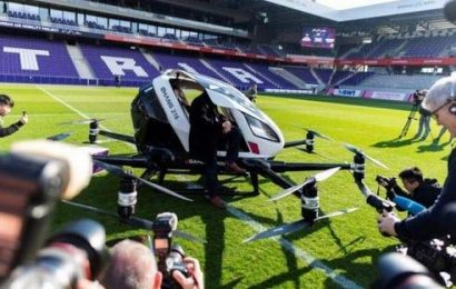 World's First Passenger Drone Service At Luxury Hotel