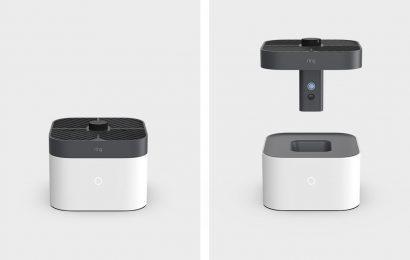 Ring představil dron pro funkci létajícího domovního alarmu