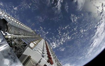 Satelity SpaceX Starlink již ve zkušebním provozu