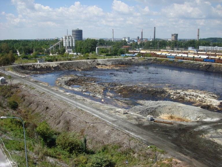 Sanace ostravských ropných lagun končí