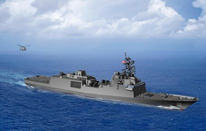 US Navy's new Constellation-class frigate