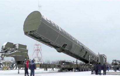 Russia will soon test Sarmat ICBM