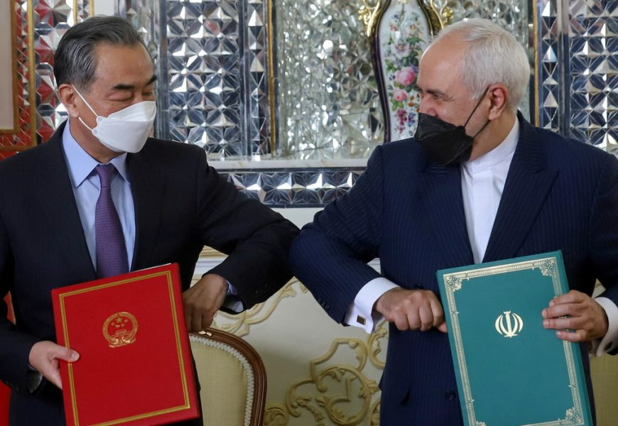 Iran & China ink 25-year strategic partnership accord