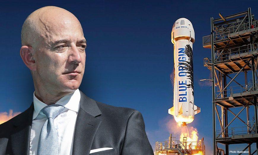 Zakladatel Amazonu Bezos dosáhl mezinárodně definované hranice kosmu
