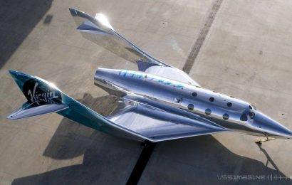 Soukromý let Sira Richarda Bransona do vesmíru